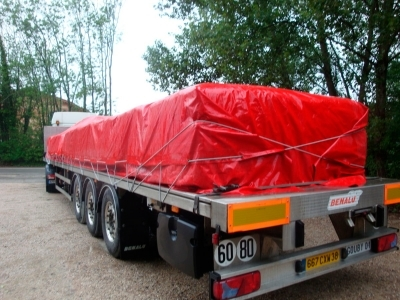 red Tarpaulins for sale